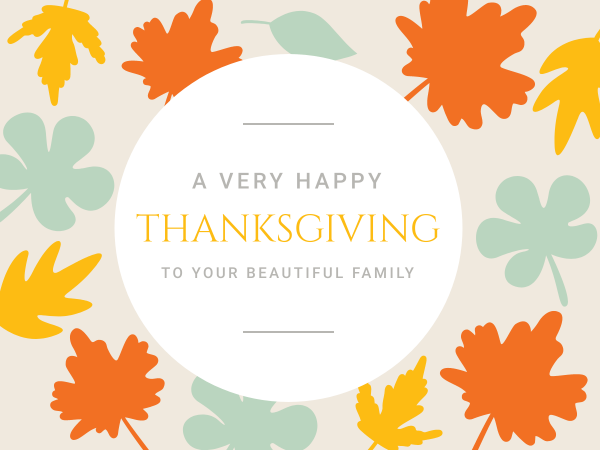 Everything you ought to know about thanksgiving cards